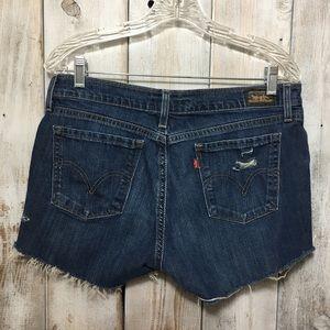 Levi's Jeans Cut Offs Shorts Size 12